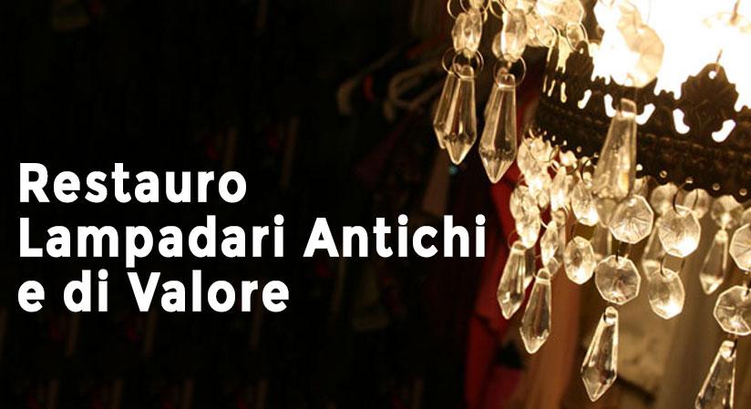 salimbeni illuminazione restauro lampadari